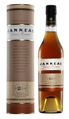 Janneau '25 Years Old' Grand Armagnac