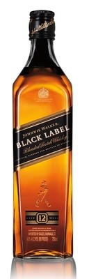 Johnnie Walker 'Black Label 12 Years Old' Blended Scotch Whisky
