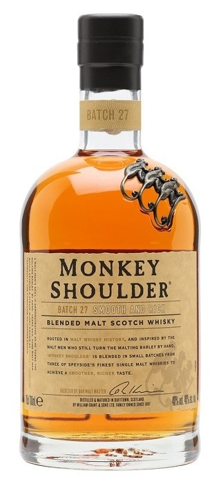 Monkey Shoulder Blended Malt Scotch Whisky