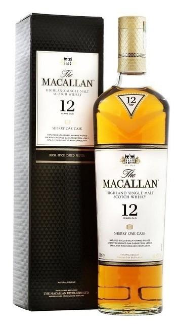 Macallan '12 Years Old Sherry Oak' Single Malt Whisky