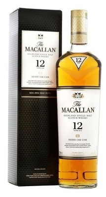 Macallan '12 Years Old Sherry Oak' Single Malt Whisky