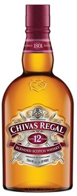 Chivas Regal '12 Years Old' Scotch Whisky