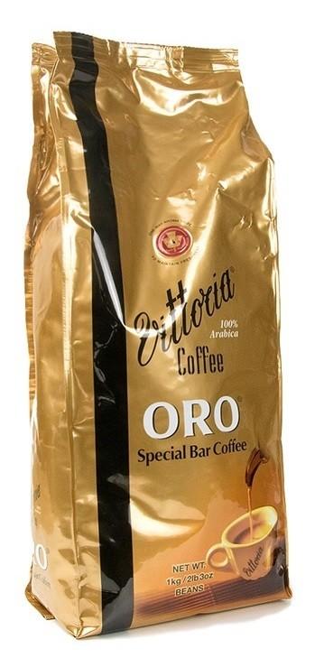 Vittoria 'Oro' Coffee Beans (1kg Pack)