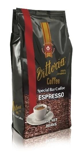 Vittoria 'Espresso' Coffee Beans (1kg Pack)