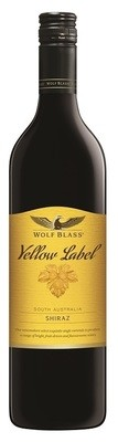 Wolf Blass 'Yellow Label' Shiraz
