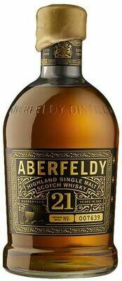 Aberfeldy '21 Years Old' Single Malt Scotch Whisky