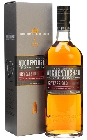 Auchentoshan '12 Years Old' Single Malt Scotch Whisky
