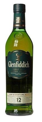 Glenfiddich '12 Years Old' Single Malt Scotch Whisky