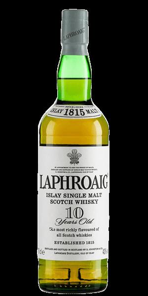 Laphroaig '10 Years Old' Single Malt Scotch Whisky