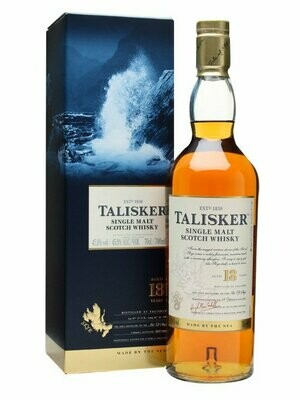 Talisker '18 Years Old' Single Malt Scotch Whisky
