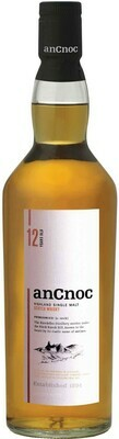 Ancnoc '12 Years Old' Highland Single Malt Scotch Whisky