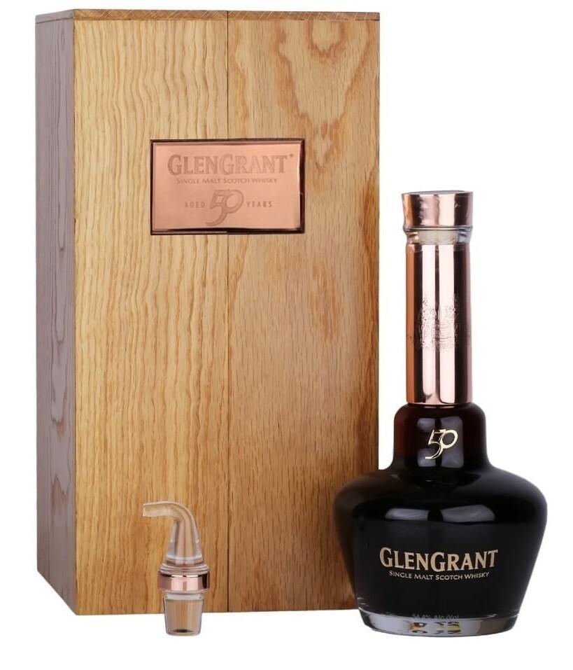 Glen Grant '50 Years Old' Single Malt Whisky (Pre-Order - 1 week delivey time)