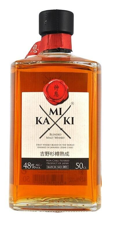 Kamiki 'Blended Malt' Japanese Whisky (500ml)