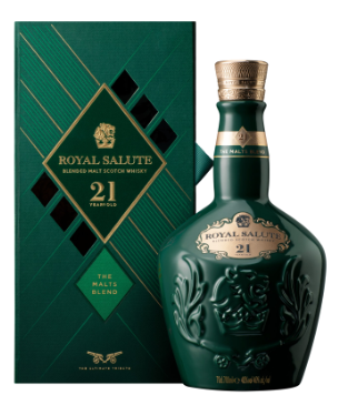 Royal Salute '21 Years Old - The Malts Blend' Scotch Whisky