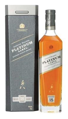 Johnnie Walker 'Platinum Label 18 Years Old' Blended Scotch Whisky