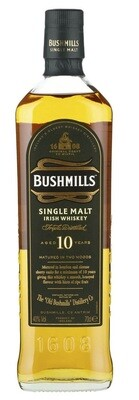 Bushmills '10 Years Old' Single Malt Irish Whiskey
