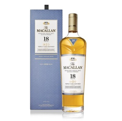 Macallan '18 Years Old Triple Cask' Single Malt Whisky