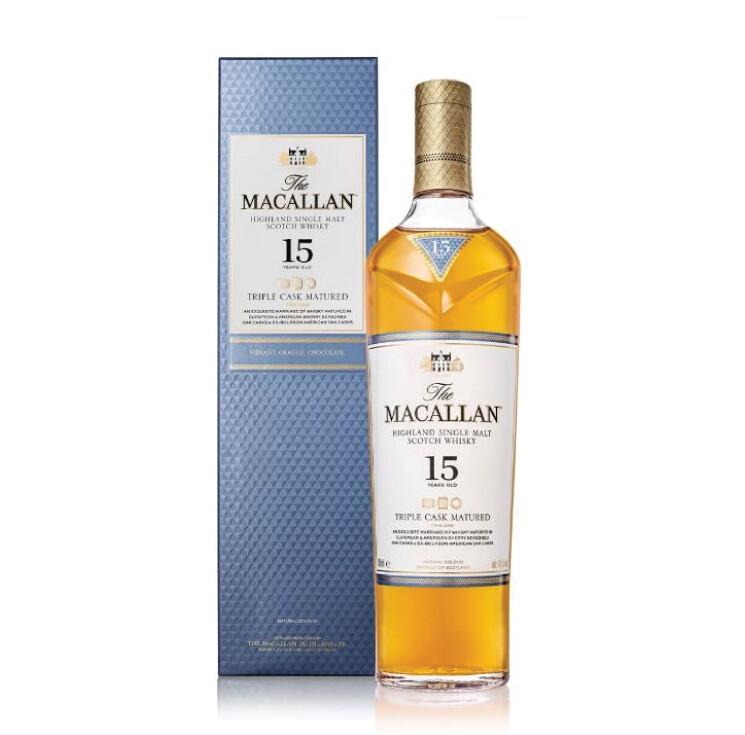 Macallan '15 Years Old Triple Cask' Single Malt Whisky