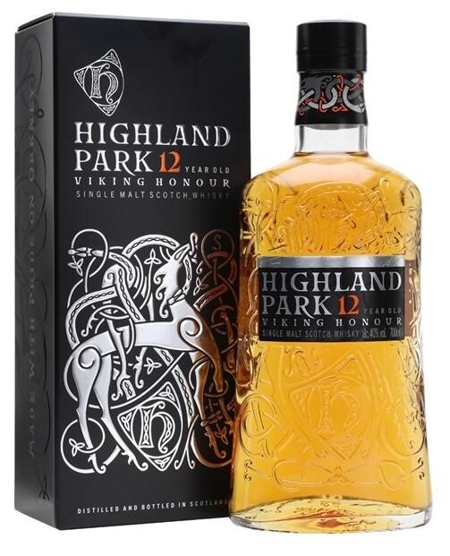 Highland Park '12 Years Old' Single Malt Scotch Whisky