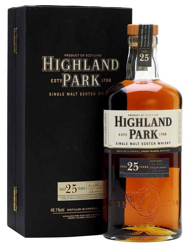 Highland Park '25 Years Old' Single Malt Scotch Whisky