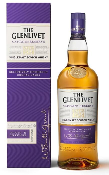 The Glenlivet 'Captain's Reserve' Single Malt Scotch Whisky