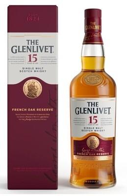 The Glenlivet '15 Years Old' Single Malt Scotch Whisky
