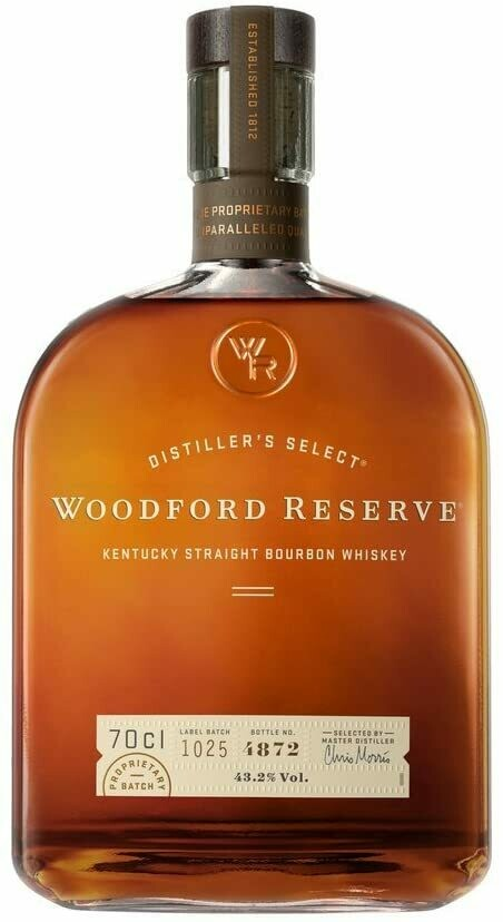 Woodford Reserve Kentucky Straight Bourbon Whisky