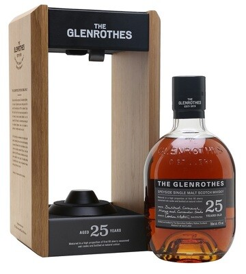 The Glenrothes '25 Years Old' Single Malt Scotch Whisky