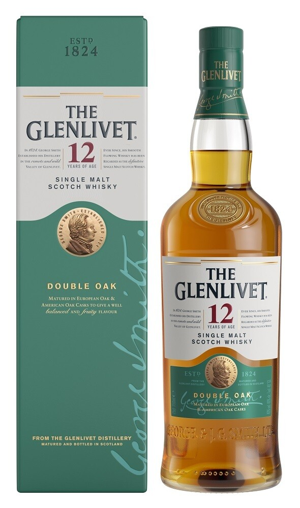The Glenlivet '12 Years Old Double Oak' Single Malt Scotch Whisky