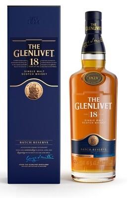 The Glenlivet '18 Years Old' Single Malt Scotch Whisky