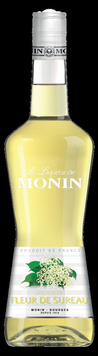 Monin 'Elderflower' Liqueur (Fleur de Sureau)