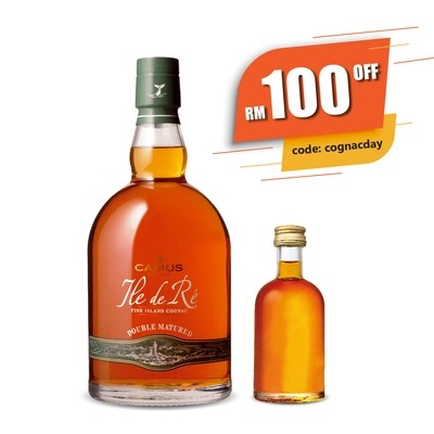 [Free Miniature+RM100 OFF]  Camus 'Ile de Re' Double Matured Cognac