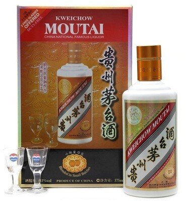 Kweichow Moutai (375ml - Gift box With 2 Glasses)