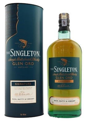 The Singleton of Glen Ord 'Signature' Single Malt Scotch Whisky