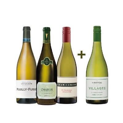 (Buy 3 Get 4) White Wines Enthusiast Pack