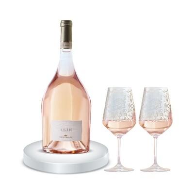 (Free 2 Glasses) Frescobaldi 'Alie' Rose de Ammiraglia Magnum - 1,500ml