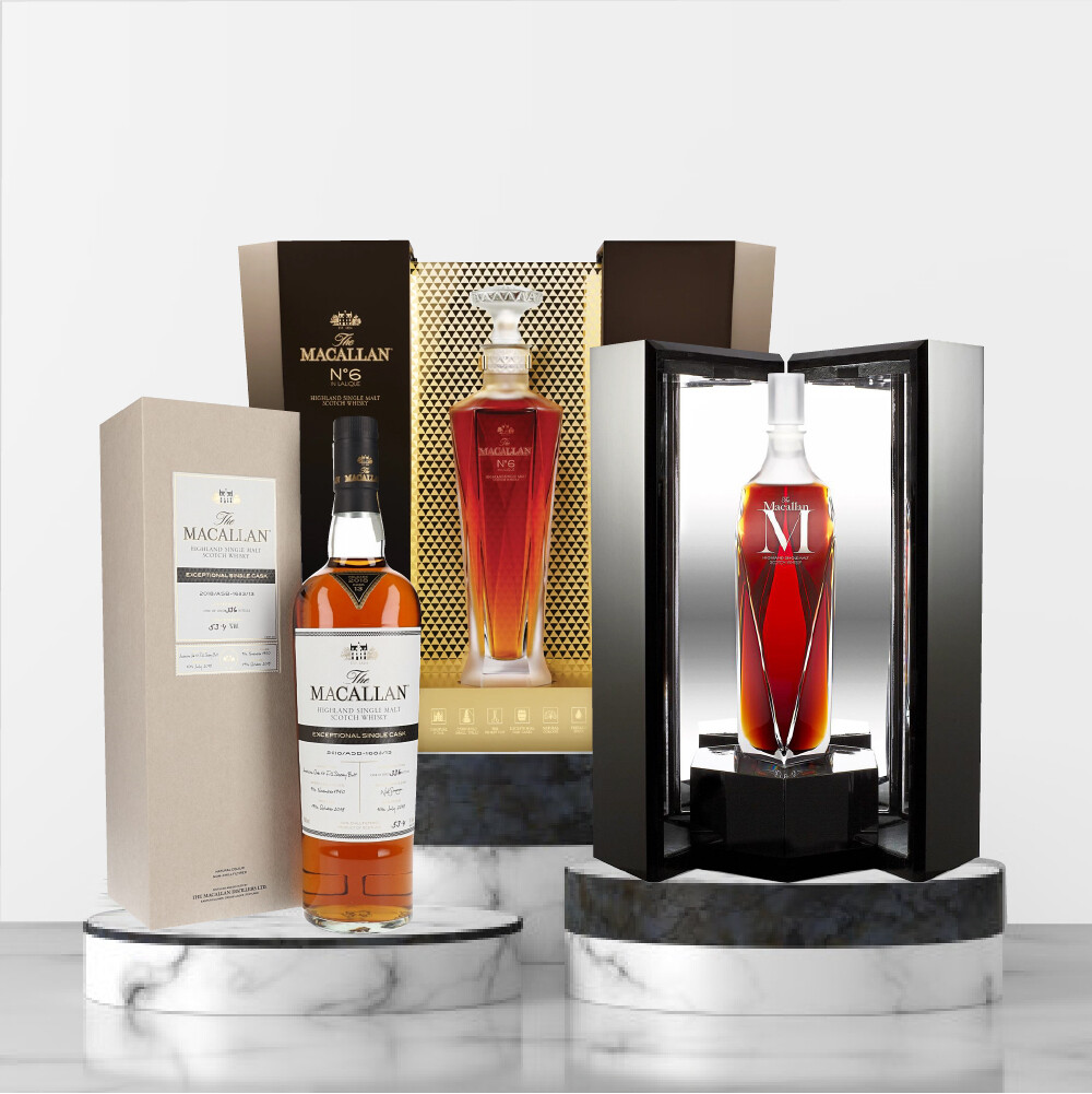 The Macallan Exceptional Single Cask Package No3