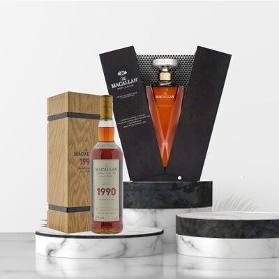 The Macallan Fine & Rare Package No1