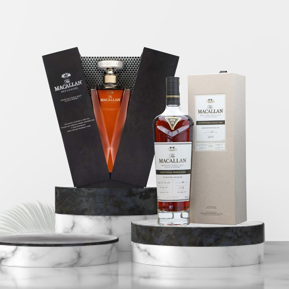 The Macallan Exceptional Single Cask Package No1