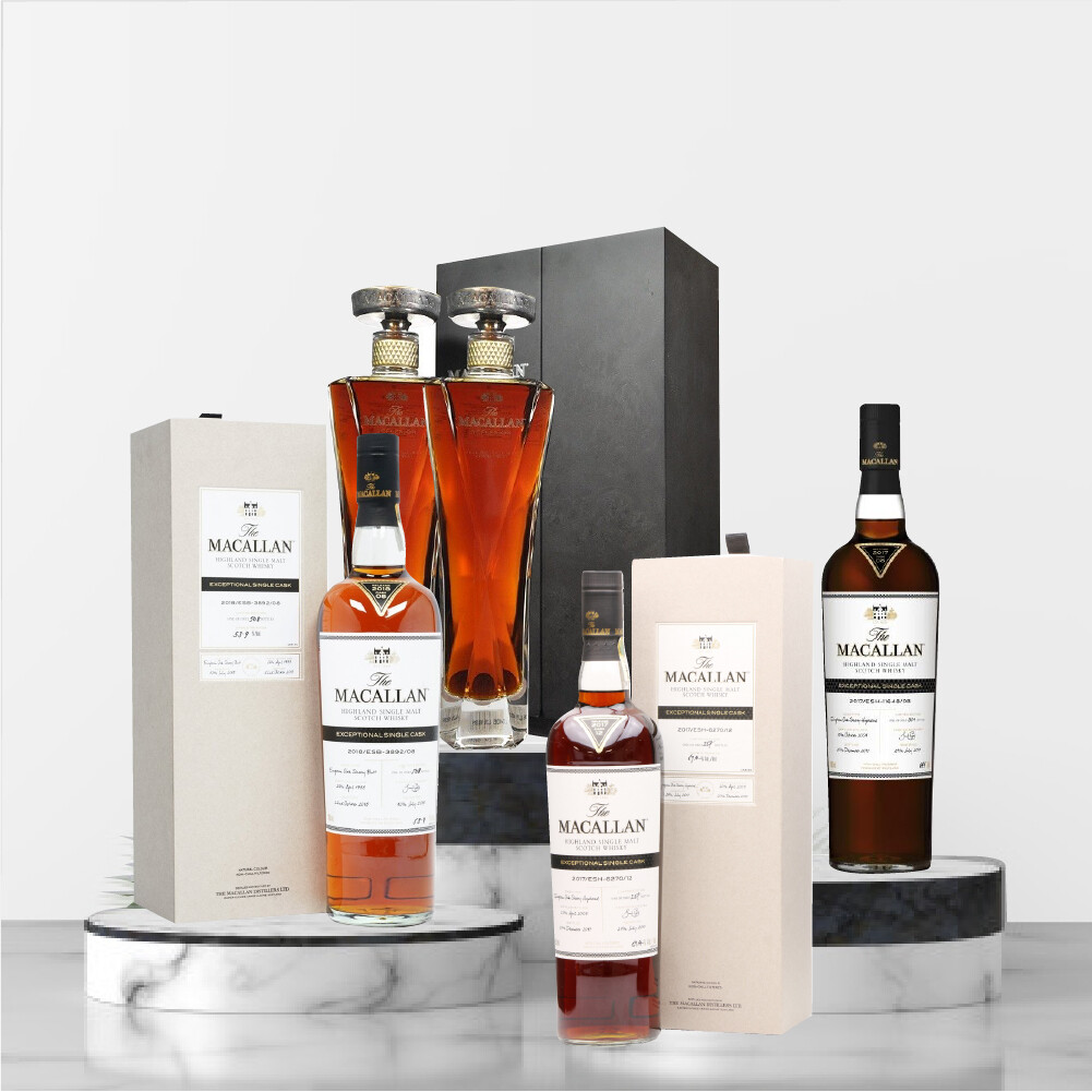 The Macallan Exceptional Single Cask Package No2
