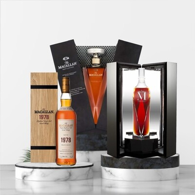The Macallan Fine & Rare Package No2