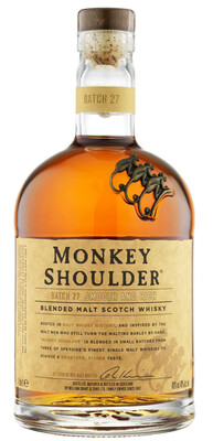 Monkey Shoulder Blended Malt Scotch Whisky (1,000ml)