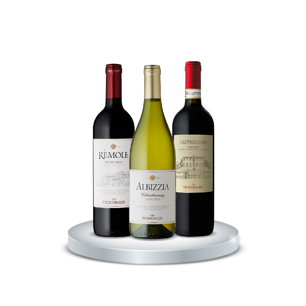 (Bundle of 3) Frescobaldi Mix and Match Red & Wine
