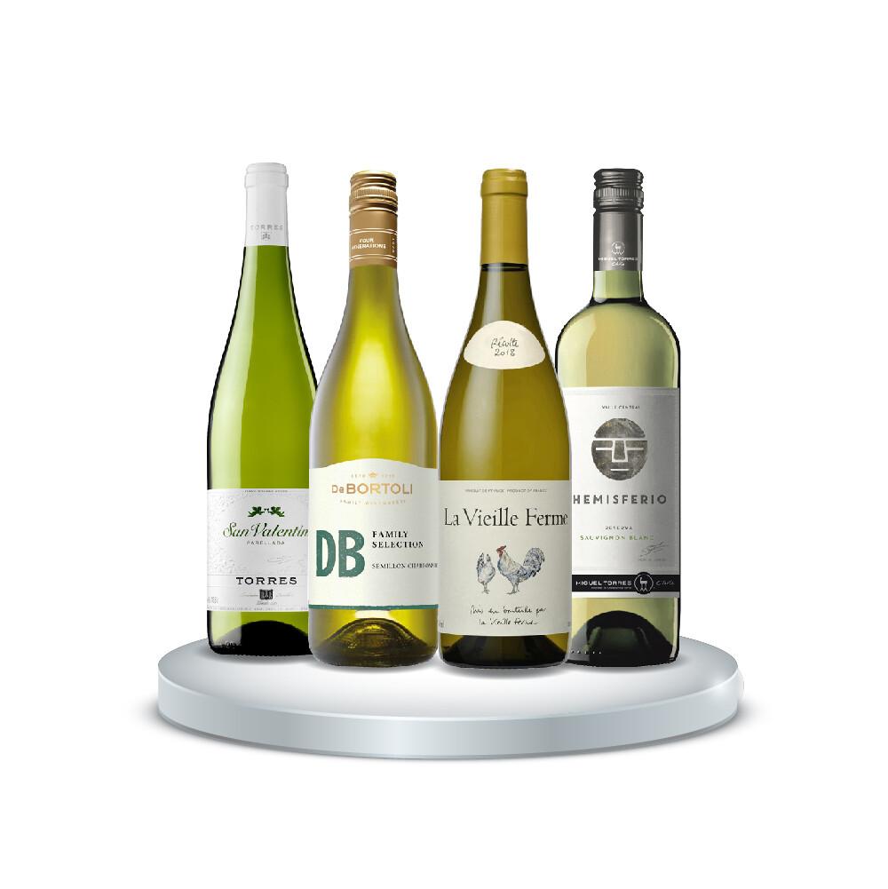 (Bundle of 4) White Wine WOW Beginner Pack
