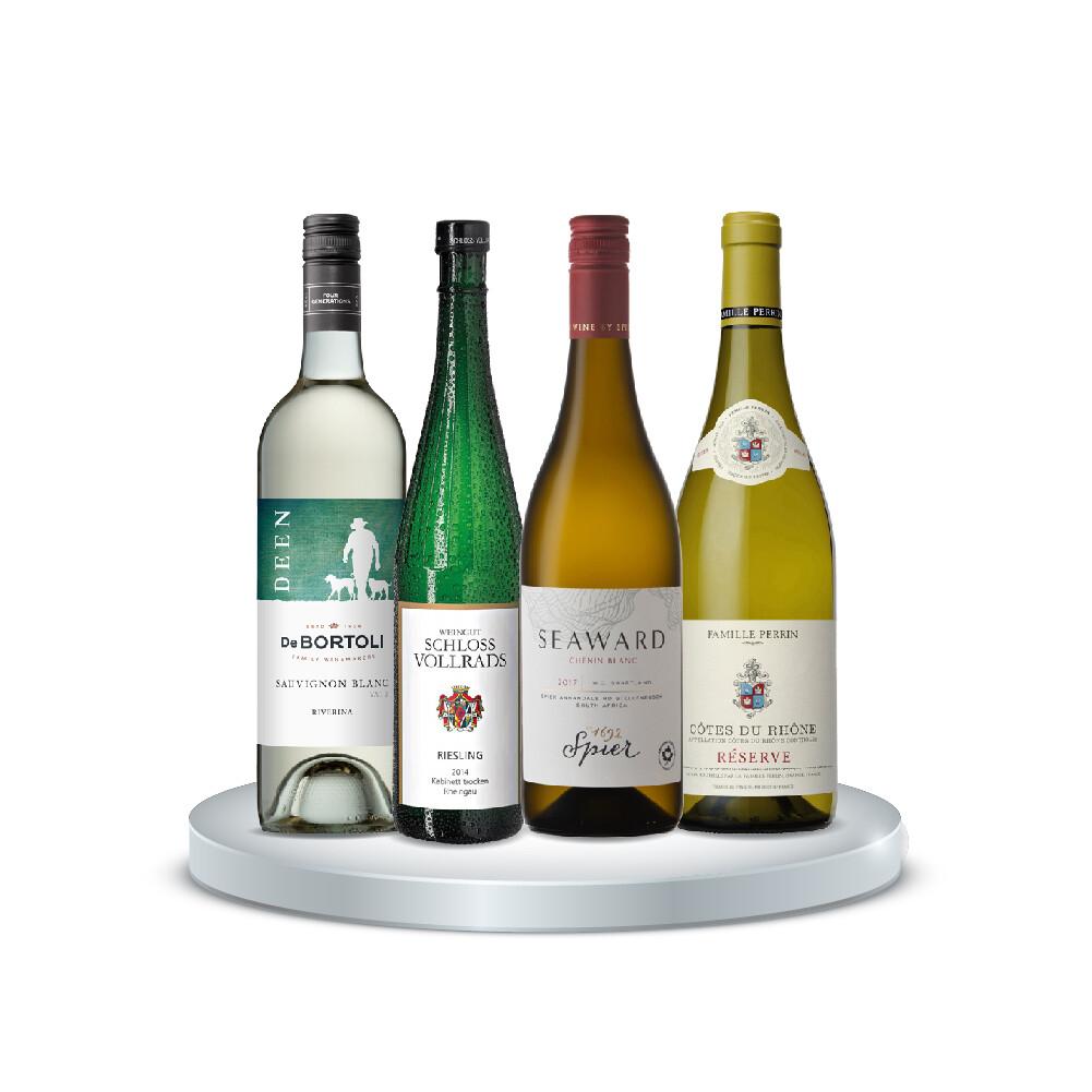 (Bundle of 4) White Wine WOW Intermediate Pack