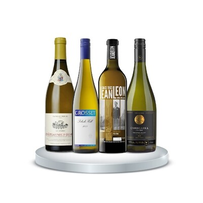 (Bundle of 4) White Wine WOW Enthusiast Pack