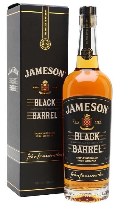 Jameson 'Black Barrel' Irish Whiskey