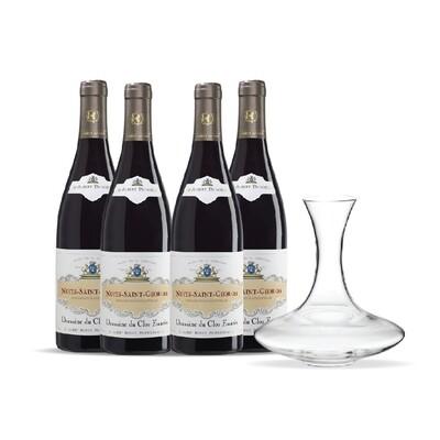 (Free Decanter) Albert Bichot 'Domaine du Clos Frantin' Nuits Saint Georges 4 btls Pack
