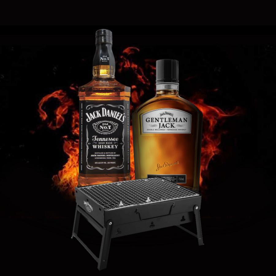 (Free Jack Daniel BBQ KIt) Jack Daniel's + Gentleman Deal