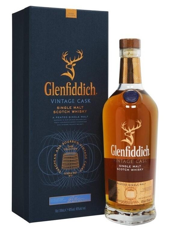 Glenfiddich 'Vintage Cask' Single Malt Scotch Whisky